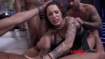 Nikita Bellucci 5on1 slut punishment with DAP & DPP (double pussy) SZ1394