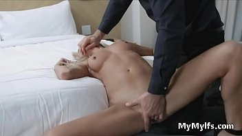 Milf likes it rough with a big white dick