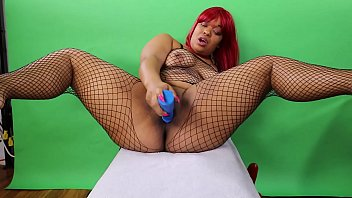 Solo Toy Session With Huge Dildo