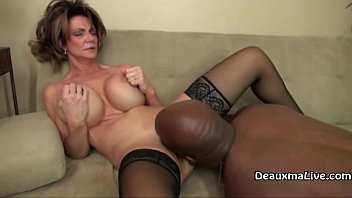 Deauxma interracial movie free - Mature milf deauxma fucks her black boss