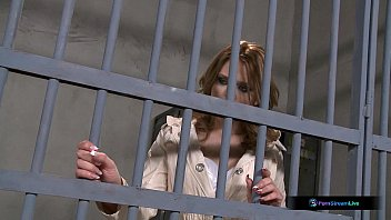 Sent to a lesbian prison - Natasha brill and goldie divine lesbian prison sex