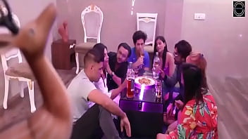 Hot Desi Indian babes group sex birthday party web series 26 min