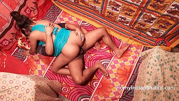 Indian Bhabhi Craves Nephews Seed Before He Leaves for College
