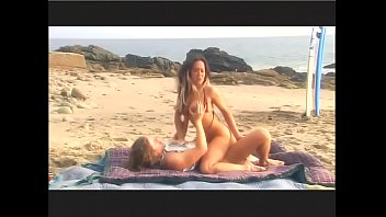 Oral beach sex - Surfer slut asia has oral sex on beach then fucks