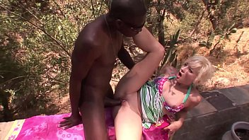 Hot Mature Sexy MILF´s First Time Ever Big Black Dick BBC On Summer Holiday