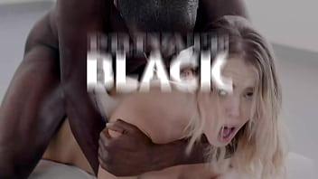Private Black – Brunette Babe Adelle Sabelle Fucks 2 Big Black Cocks!
