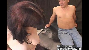Tattoo Slut Zapped and Bondage BlowJob