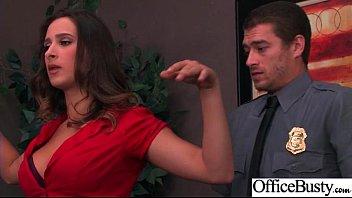 Office Girl (Ashley Adams) With Big Round Melon Tits Like Sex Mov-07