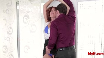 Horny GILF Takes A Young Man Home- Andi James