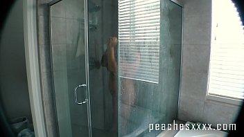 Anal Dildo Fucking in Shower 10 min