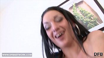 Hardcore interracial anal sex this babe gets black cock in her butt صورة