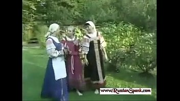 Russian women who spank men Severe spanking for russian girl in the forest