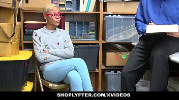 ShopLyfter - Ebony Teen Caught Stealing Fucked by LP Officer