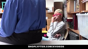 ShopLyfter - Ebony Teen (Arie Faye) Caught Stealing Fucked by LP Officer