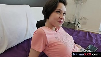 Teen nanny pounded by her boss for money