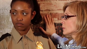 Police beauty has taboo threeway with lesbian lawyers