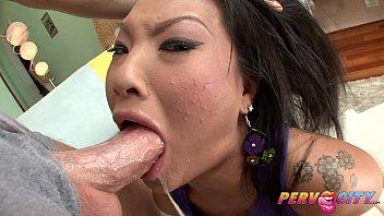 Asian sluts sucking cocks - Pervcity asa akira japanese blowjob