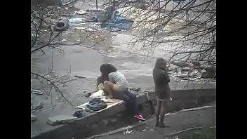Friends caught fucking in public www.teenschat.tk