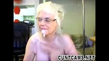 Webcam flashing cock Senior sucks dildo and fake cum - more at cuntcams.net