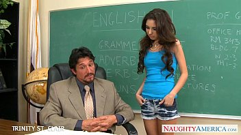 Teen naughty wecam Slim schoolgirl trinity st. clair take cock