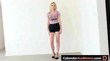Beautiful Amateur Blonde Tryout