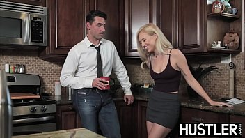 Porn hustler - Young seducer lyra law pussy receives miles of big cock