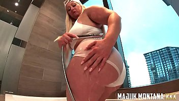 Majiik Montana Gets the Sloppiest Blowjob and Fucks Big Booty PAWG Mz Dani Doggystyle POV (PREVIEW)