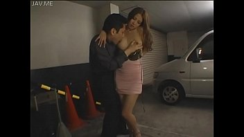 JAV beauty show s boobies in garage rage