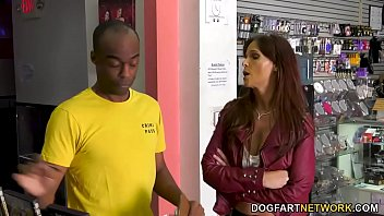 Detective Syren DeMer Has Anal With A Big Black Dick - Gloryhole 9 min