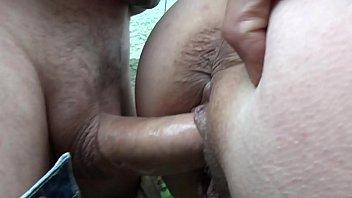 Italian BBW Milf Threesome Outdoor Fucked