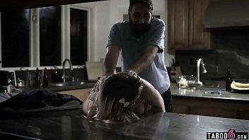 Steve teeling cheat sex Curvy teen fucks her fathers best friend in the kitchen