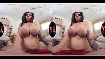 VRLatina - Big Tits Spanish Beauty Aysha Fucking Hard VR
