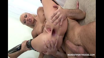 Two Cocks Inside Dolly's Ass