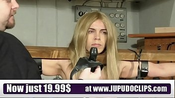 Pillory as device bondage - Jupudoclips.com - slave training punishment blonde student