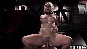 Helpless MILF Lisey Sweet dominated by a bad guy in secret room
