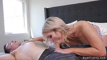 Busty hot TS anal fucks sisters date thumbnail