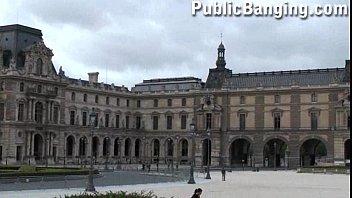 Public orgy at the Louvre Paris