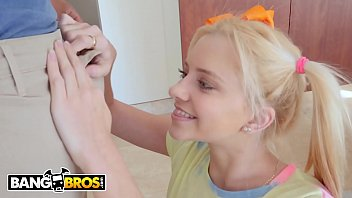 BANGBROS - Tiny Teen Riley Star All Up On Ricky Johnson's BBC thumbnail