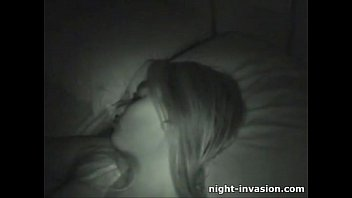 Pretty Pussy Fingered in Sleep
