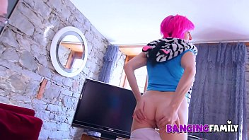 Banging Family - Teenie Ask Help To Uncle For First Dick In Ass 13 min