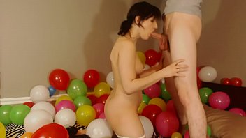 Fucking In Giant Pile Of Balloons