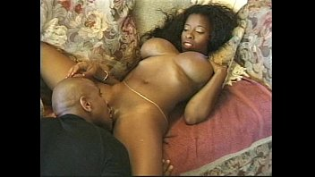 Free titty fucking galleries Big tits ebony in action on the bed
