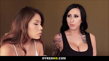Hot Tattooed MILF And Her BFF Fuck Teen Daughter