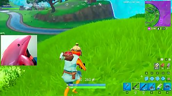 Pink dolphin eating man and playing Fortnite 7 min