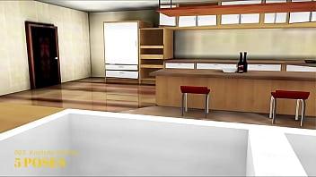 Imvu Black Market Room 063 Kootchy Kitchen thumbnail