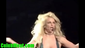 Britney Spears Pussy Flashing and Nip Slip In Concert 3 min