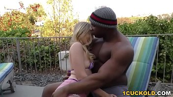 King dick wrenches - Riley reyes gets stretched by a bbc - cuckold sessions