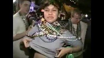 Mardi gras videos boobs - Mardi gras big boobs grope 6