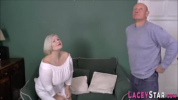 Brit gran bent over and fucked