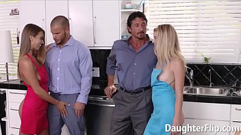 Arya Faye and Jill Kassidy Drilled by Big Dicks